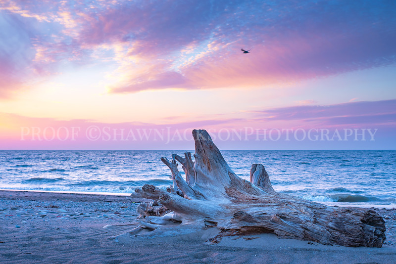 Lake Erie at Sundown