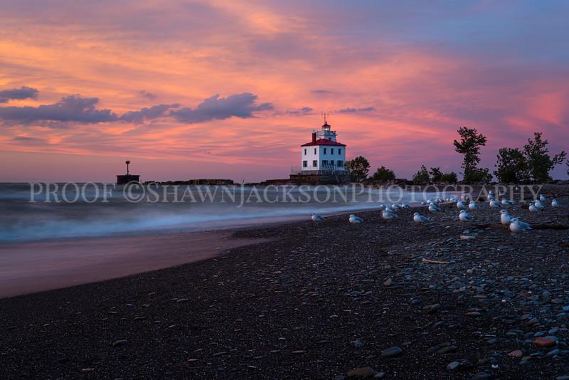 Lighthouse at Headlands Beach