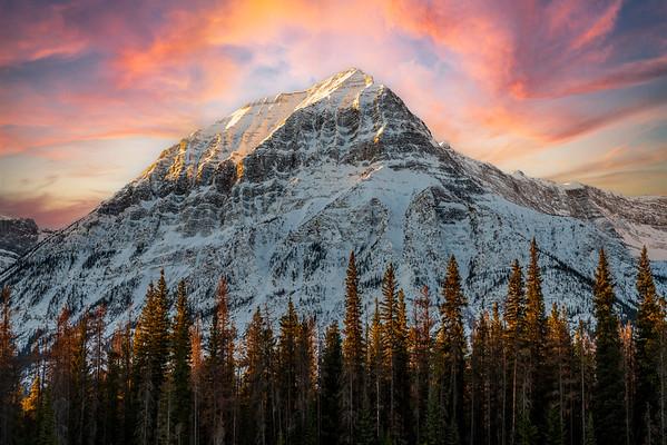 Towers Over Jasper Alberta