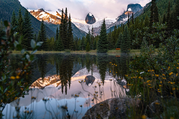 Bugaboo Spire in Purcell Mountains, British Columbia 2019