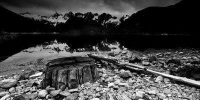 Days Gone By, Jones Lake, British Columbia (I-6688-E) Limited Edition Print - Maximum 100 copies to be sold.