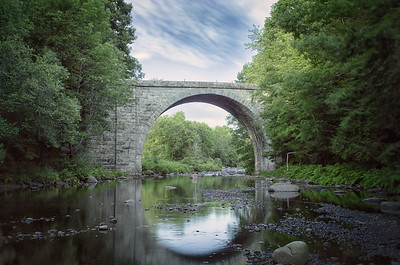 Cheshire Railroad Stone Arch Bridge Keene, NH - Built 1847