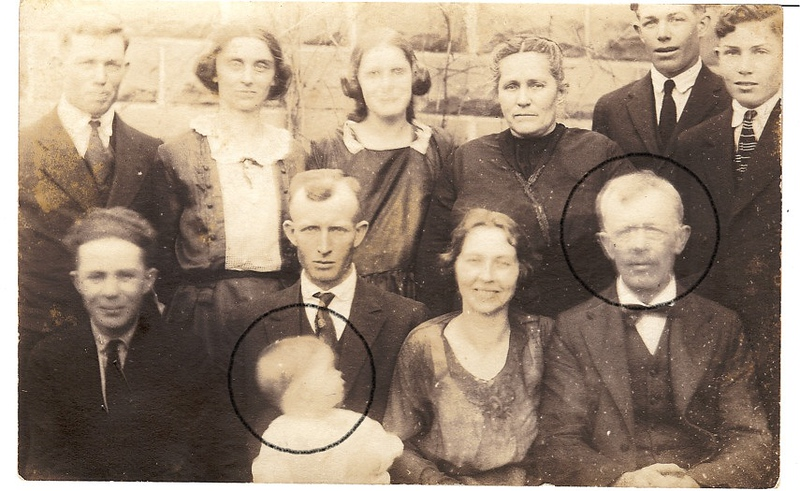 Circled in this 1924 photo are James T. Somers, the father of Timothy J. Somers and James Somers, his great grandfather.