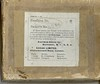 """4"""" x 5"""" Glass Plate negative box cover. Negatives from the above photos were stored in this box for about 90 years."""
