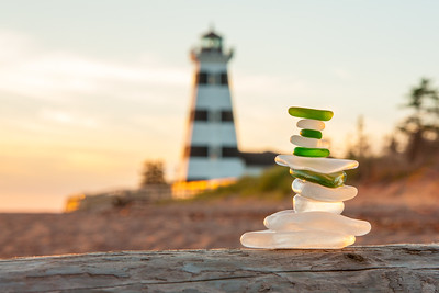 Sea Glass Stack at West Point