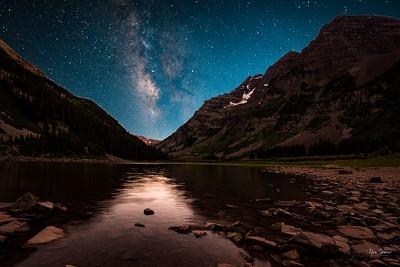 Maroon Bells-Aspen Milky Way