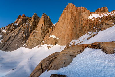 Pre Glow on Mt Whitney