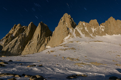 Mt Whitney Star Trails