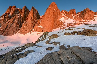 Alpen Glow, Wide Angle, Mt Whitney