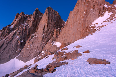 Pre Dawn Long Exposure, Mt Whitney