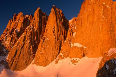 Keeler Needles Alpen Glow