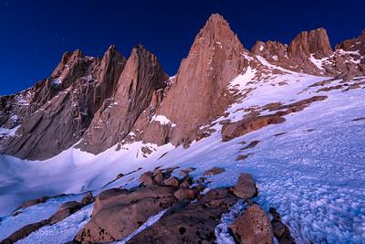 Pre Dawn Light on Mt Whitney