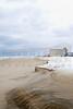 Snow on Nags Head Beach