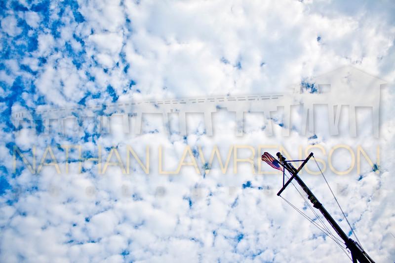 Ocracoke Ferry Sky