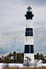 Bodie Island Lighthouse in the Snow