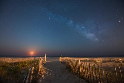 Sea Isle Moonrise