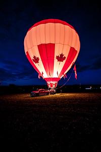 Hot Air Balloon, Crapaud, Prince Edward Island