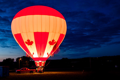 Hot Air Balloon, Crapaud, Prince Edward Island