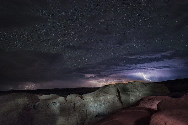 Moab Stormy NIght
