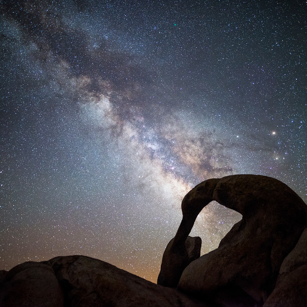 Mobius Arch Milky Way - Comet 252P/Linear