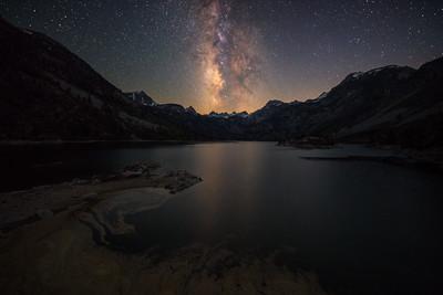 Lake Sabrina Milky Way