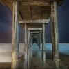 Scripps Pier Star Trails