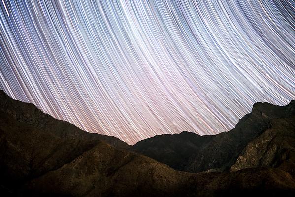 Borrego Springs Star Trails
