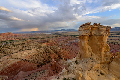 Chimney Rock Rainbow