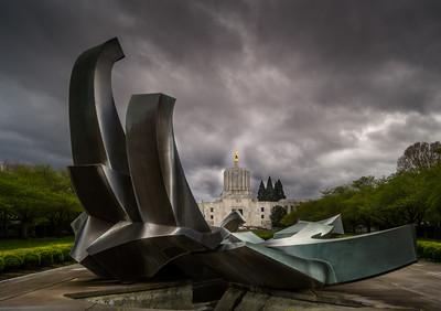 Salem Oregon Capitol