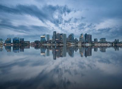 Boston Skyline - Boston MA