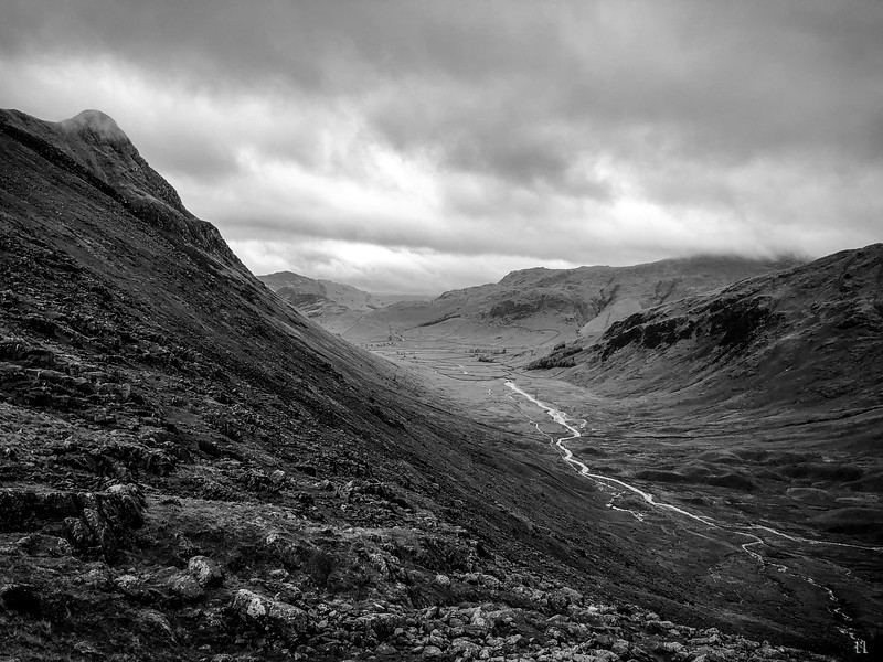 Great Langdale from Stake Pass