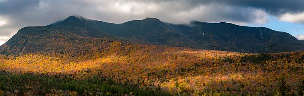 Autumn Light White Mountains Panorama