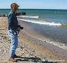 Lake Superior, Whitefish Point Beach & Museum, MI U.P.