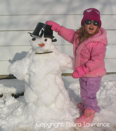 Building a Snowman, Kettering, OH