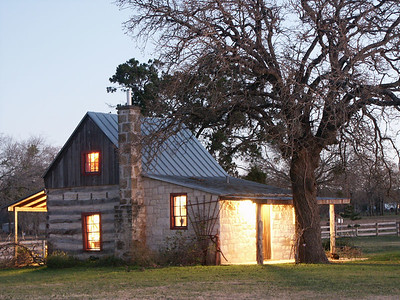 The Country  This bed and breakfast is located at a vineyard in Fredericksburg, Texas.