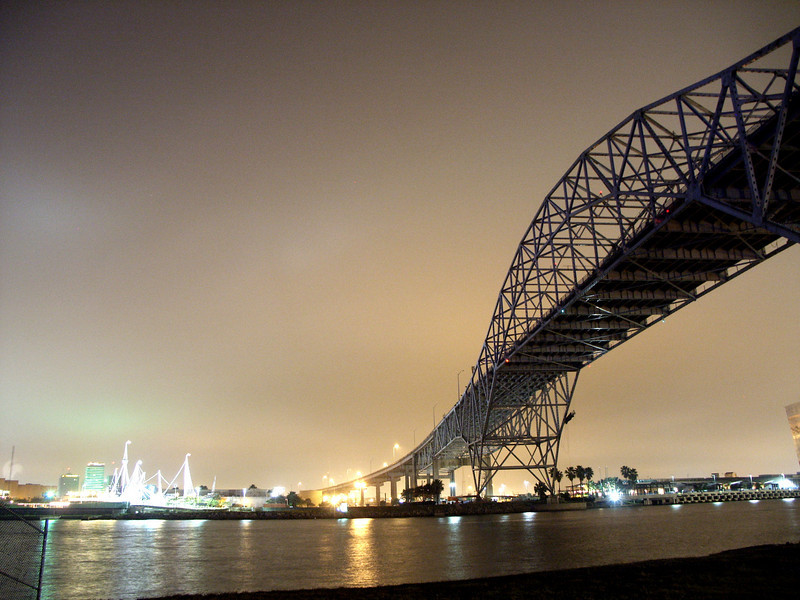 From My Past: Harbor Bridge Corpus Christi Texas
