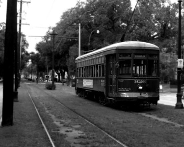 VEHICLE: New Orleans Street Car