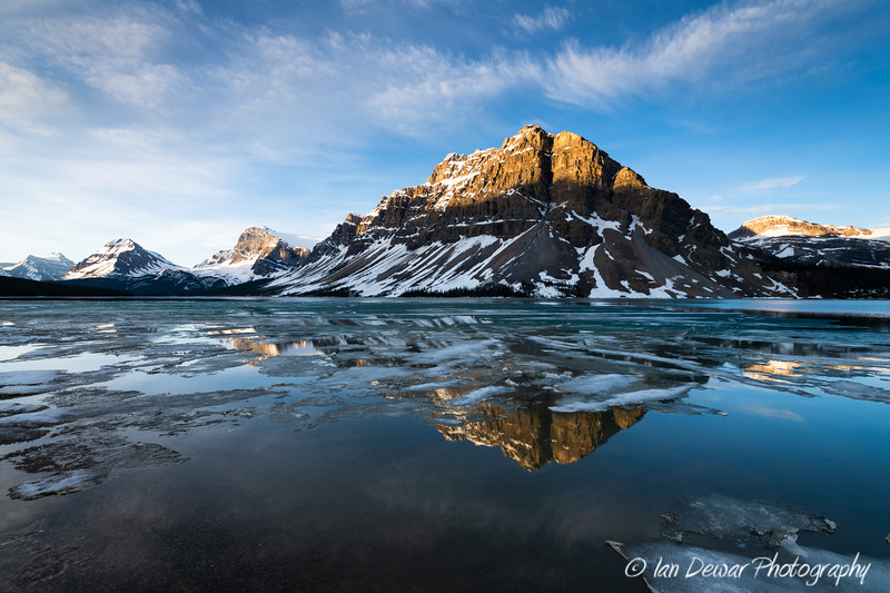 Springtime at Bow Lake