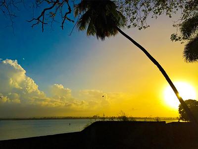 Sunset. San Juan, Puerto Rico