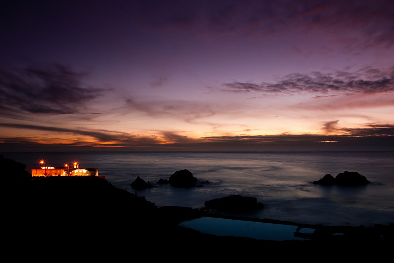 """Cliff House restaurant over looking the Sutro Baths<br /> <br />  <a href=""""http://en.wikipedia.org/wiki/Sutro_Baths"""">http://en.wikipedia.org/wiki/Sutro_Baths</a><br /> <br />  <a href=""""http://en.wikipedia.org/wiki/Cliff_House"""">http://en.wikipedia.org/wiki/Cliff_House</a>,_San_Francisco"""