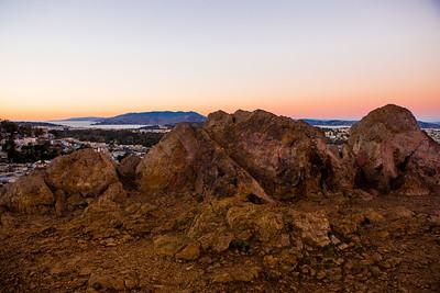 Twin Peaks Sunset. San Francisco