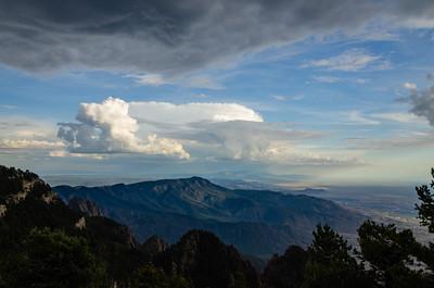 South Peak Clouds