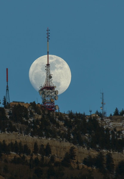 North Peak Moonrise