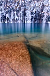 Precipice Lake Cliffs