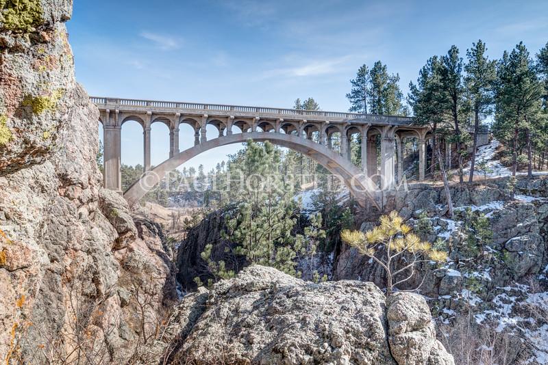 Beaver Creek Bridge, Wind Cave National Park.