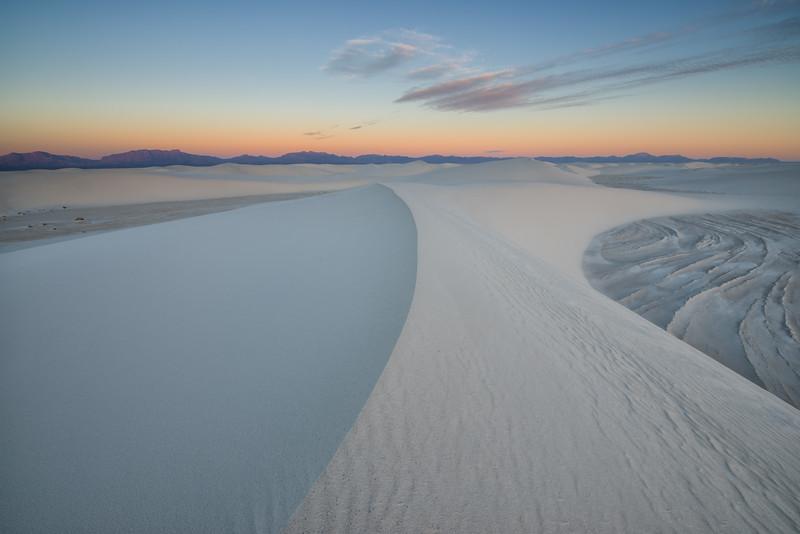 White Sand Curves