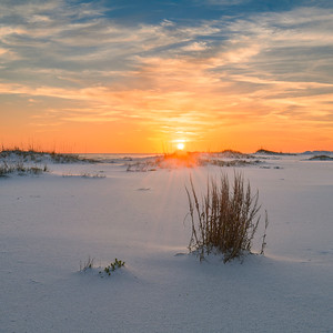 Gulf Islands Simple Sunset