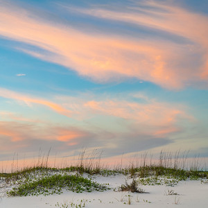 Colorful Dusk Clouds On Pensacola Beach