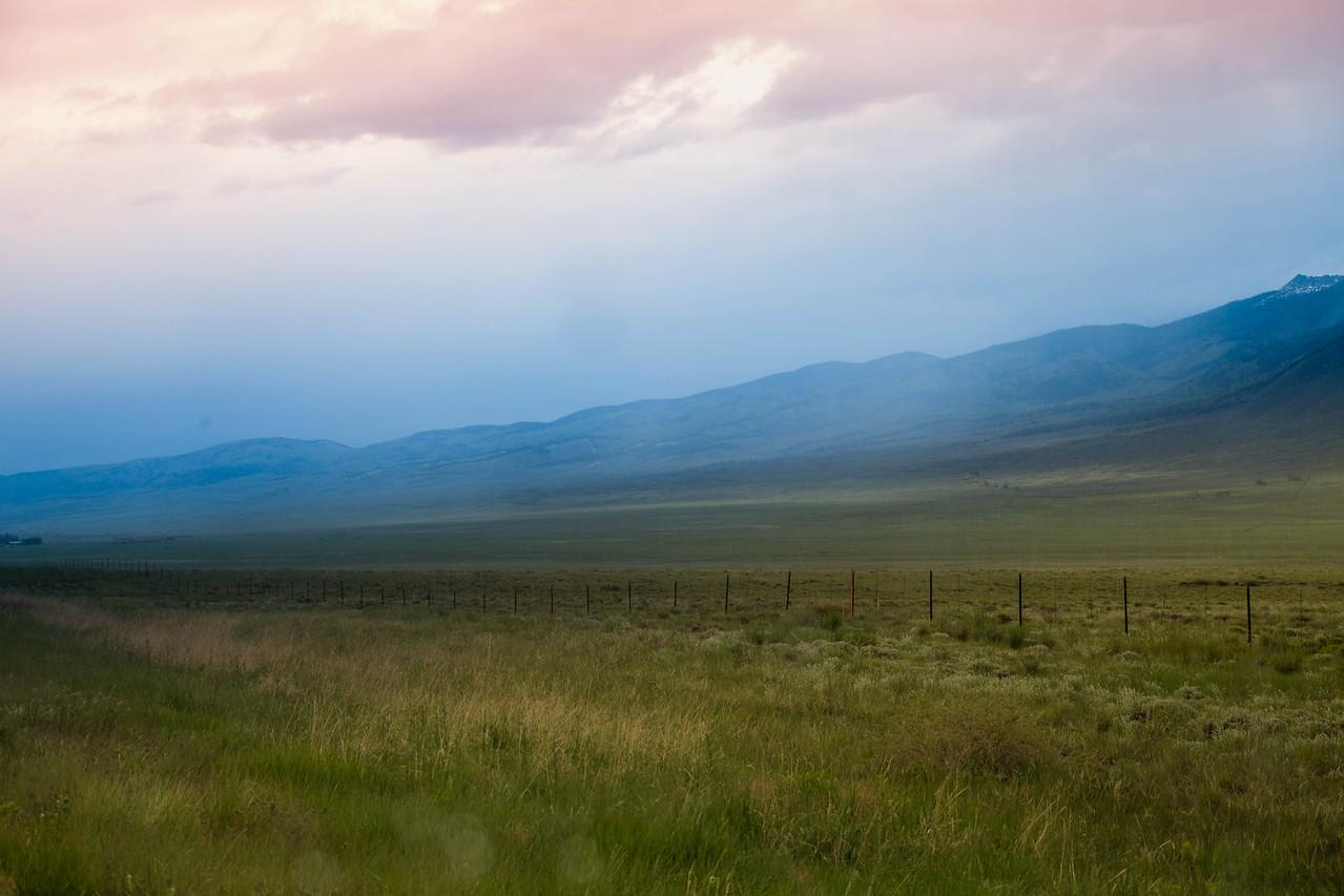 Colorful Mountain Range, Colorado