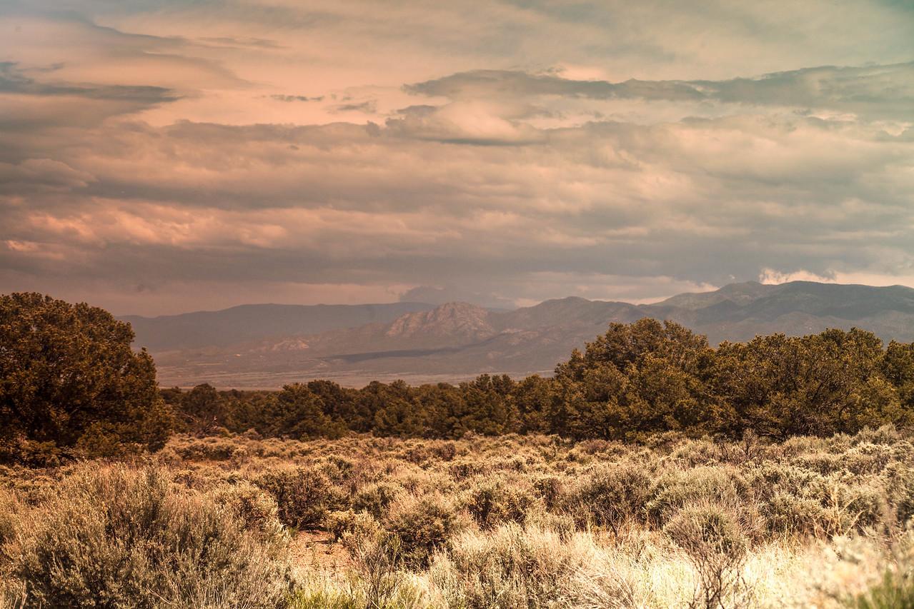 New Mexico Pinion, Mesa and Mountains